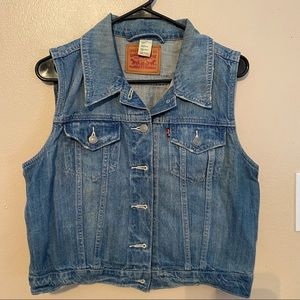 Levi Strauss & co Jean vest